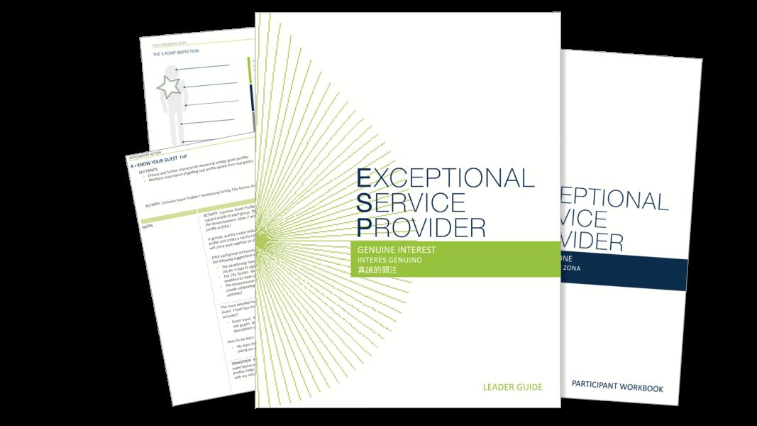 Team Berkana Service Academy Exceptional Service Modules